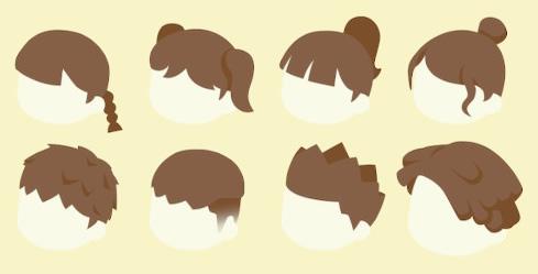 男 とび 森 髪型